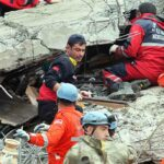 Watch: Rescuers Search Rubble for Survivors After Deadly Earthquake